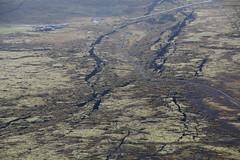 Cracks (hó) Tags: þingvellir ármannsfell iceland fissures cracks geology tectonics continentaldrift lava moss landscape september 2016