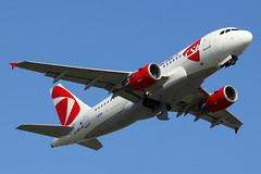OK-MEK | Airbus A319-112 | CSA Czech Airlines (cv880m) Tags: helsinki vantaa hel finland okmek airbus a319 319 319100 319112 csa czechairlines babybus czechrepublic