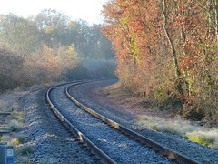 (domclavaud) Tags: auch gers automne paysage froid nature occitanie scnf chemindefer rails