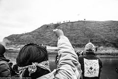 Water Protectors build bridge to sacred site Turtle Island on November 24th (Survival Media) Tags: nodapl standingrock standwithstandingrock waterislife northdakota waterprotectors turtleisland sacredsite action environment environmentaljustice native indigenous dakotaaccesspipeline