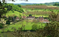 Dordogne Landscape. (@Jenny@) Tags: france green landscape village dordogne hills week23 2013 522012 weekofjune3 52weeksthe2013edition 522013 yahooyourpicturesbestof2013