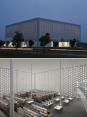 Kanazawa Umimirai Library, Kanazawa City, Japan (Iris Speed Reading) Tags: world latinamerica southamerica beautiful us amazing cool asia europe top library libraries united most states coolest inspiring speedreading