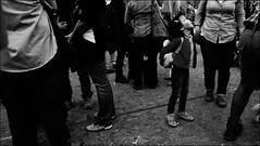 Pratellosolaandata (marco ottaviani) Tags: people bw san strada grigio gente sony ombre persone bologna luci piazza biancoenero francesco boh bambina 25aprile pratello rubati bambolotto sonynex5r
