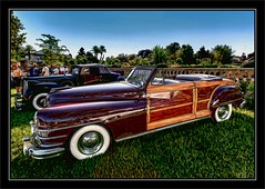 1947 Chrysler New Yorker Town & Country Convertible Woodie (Wilder PhotoArt) Tags: auto classic photoshop canon artistic woody chrysler antiqueautos classiccars automobiles 1947 woodie showandshine americaamerica lakemirrorclassic gmfyi autoglamma 1947chryslertowncountry