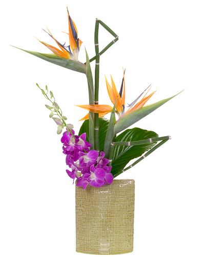 Hawaiian Tropical — Leanne and David Kesler, Floral Design Institute, Inc., in Portland, Ore.