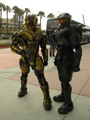 SDCC13 - Halo Cosplay (W10002) Tags: cosplay halo masterchief sdcc sandiegocomiccon sdcc2013 sdcc13