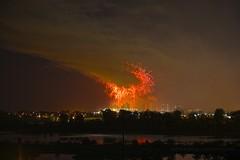 Fireworks Smoke