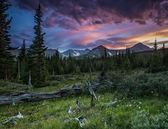 Indian Peaks sunset (Bill Bowman) Tags: sunset storm colorado indianpeaks navajopeak niwotridge arapahopeaks mountainresearchstation southernrockymountains kiowapeak