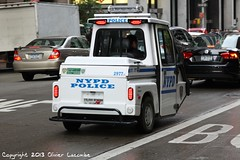 NYPD police (comiquaze) Tags: nyc usa newyork state empire