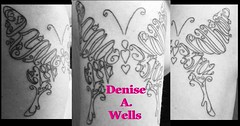 Kyla and Nathan butterfly tattoo design by Denise A. Wells (♥Denise A. Wells♥) Tags: deniseawells customtattoodesign tattooflash tattoodesign prettybeautifultattoo prettytattoodesignsforladys girlytattoodesign flowertattoos hearttattoos crosstattoo butterflytattoo namesmadeintoabutterflyshape namesmadeintoaheartshapedtattoo letteringmadeintoacrossshapedtattoo watercolortattoodesign watercolormusictattoodesign watercolortattoobydeniseawells