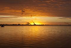Sunrise 27th September 2013 (mark_fr) Tags: york sunset sky sun set sunrise volcano view market yorkshire hill estuary vale east dust rise volcanic mere beverley humber hornsea weighton molescroft