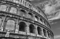 Le Colise (CpaKmoi) Tags: bw rome roma nb flavio hdr colosseo anfiteatro colise flavium amphitheatrum