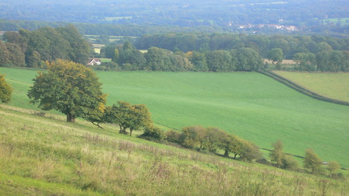 View approaching Westerham Hill