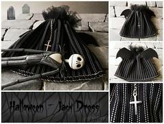 Halloween - Jack Dress ( DOLLS) Tags: halloween jack timburton pesadillaantesdenavidad dollslahabitacindelossueos vestidoparamuecas