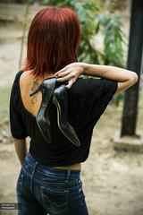 Camille (Vincent/H) Tags: red woman paris france french rouge nikon natural femme sensual beaut shooting tatoo redhair mode franais sensuel naturelle tatouage modle naturel cheveuxrouges d7100 vincenth