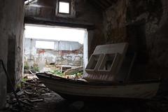 Left Hand Rotation (lefthandrotation) Tags: ladrillo muelle mar barca barco ship lisboa demolition cabina forgotten naval cacilhas almada abandono maritimo abandonado derruido almacen destruido demolido demoler derrocada
