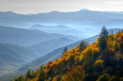 Smokies Landscape, Great Smoky Mountains National Park (esywlkr) Tags: autumn mountains fall landscape nc day northcarolina smokies wnc greatsmokymountainsnationalpark warrenreed