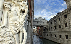 Bridge of sights, Venice