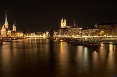 Zurich City Lights (carolina_sky) Tags: night zurich citylights flickrbronzetrophygroup linmatriver