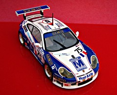 Porsche 911 GT3 RS, Entrant in 2004 Le Mans, Drivers, Ian Khan / Nigel Smith / Tim Sugden (montanaman1) Tags: 2004 scale ian tim model 911 smith mans le porsche khan nigel rs drivers 143 gt3 diecast minichamps sugden entrant