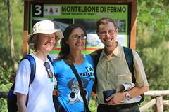 Letitia Blake, Emanuela Pompei and John Simkins day 2