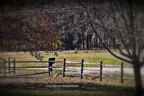 Country Road Fence