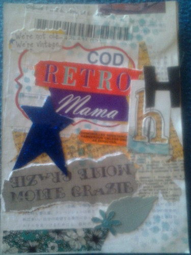C+P: sCrappy bits collage mail art