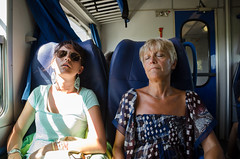 Like Mother, Like Daughter (_Codename_) Tags: venice sleeping italy train honeymoon tourists