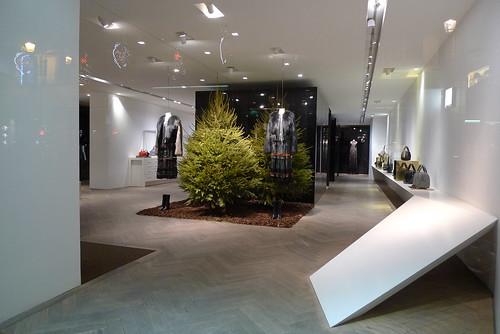 Vitrine de Noël Givenchy - Paris, décembre 2013