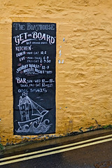 Sign at the Boathouse, Trevethan Hill, Falmouth (Tim Green aka atoach) Tags: cornwall falmouth