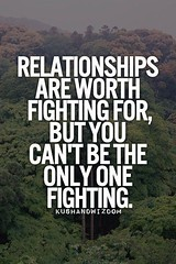 #Hurt #Quotes #Love #Relationship Relationships are worth fighting for, but you can't be the only one fighting. Facebook: http://ift.tt/13GS5M6 Google+ http://ift.tt/12dVGvP Twitter: http://ift.tt/13GS5Ma #Depressed #Life #Sad #Pain #TeenProblems #Past #M (HurtQuotes) Tags: life love broken pain hurt alone sad quote move teen relationship quotes trust depressed past problems depressing on