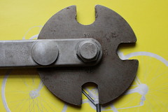 Campagnolo Pedal Spanner (rear). (Paris-Roubaix) Tags: italy vintage italian tools 1967 pedal vicenza campagnolo spanner multiheaded