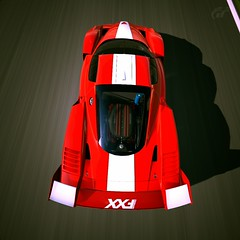Gran Turismo 6 - Ferrari FXX '07 (GTONE339) Tags: horse 3 real driving 4 ferrari simulator playstation 07 2007 prancing fxx granturismo6