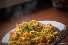 niadanie (Tomek Walas) Tags: kuchnia jajka jajecznica gotowanie niadanie