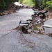 Damage to Gregory Canyon Road