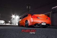 Infiniti G37 Coupe - Fueled Mag Submission (ONEightyNYC) Tags: nyc newyorkcity bronze brooklyn gold nissan ironman headlights f10 led f30 bmw hr m3 rims m6 m5 g35 350z m4 7series matte exhaust 1m kw lagunaseca infiniti brembo 535 coilovers f12 550 bimmer nismo customcars 750 airbags customrims 335 f01 f13 f06 vossen cv3 customshop oneeighty oneighty g37 customwork cv4 airsuspension 370z libertywalk loweringsprings grancoupe mattepaint ledheadlights customheadlights customcarshop 180custom 180customs oneightynyc bmwspecialists ironmanheadlights ironmanled nissanspecialists infinitispecialists