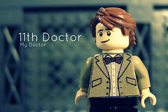 The 11th Doctor (FinalShotFilms) Tags: david matt lego who bricks bowtie smith sonic doctor 10th dalek 11th custom screwdriver minifigure tennant tenth