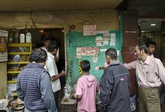 Tea Shop - D7K 5573 ep (Eric.Parker) Tags: india shop store tea january storefront kolkata bengal calcutta 2012