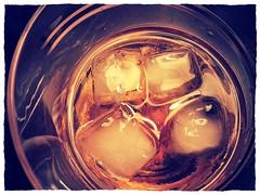 Godfather (Kninki) Tags: ice glass cocktail whisky scotch godfather amaretto 2014 hpad clinky flickrandroidapp:filter=chameleon