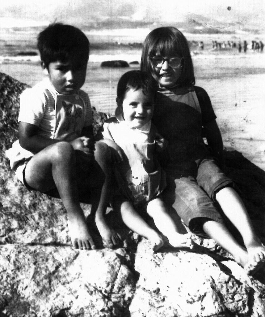 Americo, Angela and Tatiana, Chile 1973