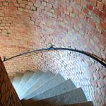 Leuchtturm auf dem Dornbusch auf der Insel Hiddensee (Innenansicht - Treppenaufgang) (5) thumbnail