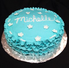 Ruffle Cake by Elicia, Santa Cruz,Ca, www.birthdaycakes4free.com