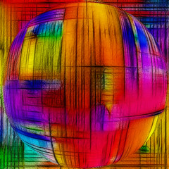 MehdiTilesWeaver-Fractalius-Kugel (Marco Braun) Tags: color couleurs colourful coloured farbig bunt mucho 2014