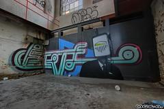 Five (Abandoned Rurex World.) Tags: urban mtl hdr usine 2014