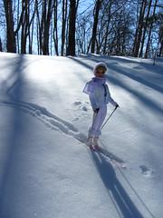 (7) Suzette hits the Slopes (Foxy Belle) Tags: winter white snow ski look set vintage outside doll barbie clone miss suzette uneeda