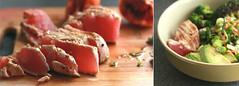(Terin Talarico) Tags: food orange fish japanese avocado broccoli garlic noodles seafood soba soysauce carrots soy tuna buckwheatnoodles greenonion bloodorange glutenfree foodphotography foodgasm zarusoba springonion tsuyu panseared noodlebowl foodstyling foodforfoodies vision:sunset=0626 vision:sky=0622
