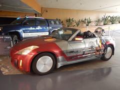 Tardis recovery vehicle and an X-wing car (kerry richardson) Tags: who doctor gally gallifreyone 25yearsofgallifreyone