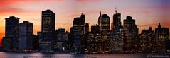 Classic Manhattan Skyline - 2008 (Carlos Alkmin) Tags: nyc newyorkcity sunset sky usa newyork skyline brooklyn america buildings unitedstates dusk manhattan brooklynheights landmark céu promenade estadosunidos