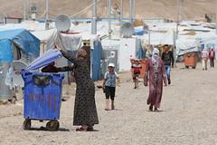 Iraq syrian refugee camp Kawergosk / Erbil   7.06.2014  TR_06872 (Thomas Rossi Rassloff) Tags: camp refugee iraq krieg terror kurdistan syrian irak gewalt flchtlinge asyl 7062014