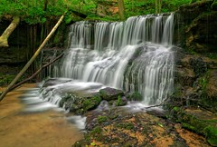 Old Mill Cascades - White County (Stophered) Tags: county old white fall mill water waterfall tn tennessee entrance cascades cave